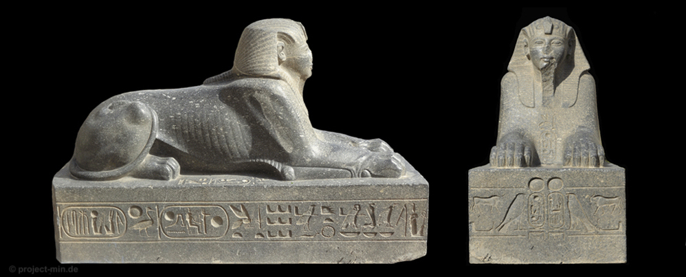 sphinx statue from Tell el-Maskhuta